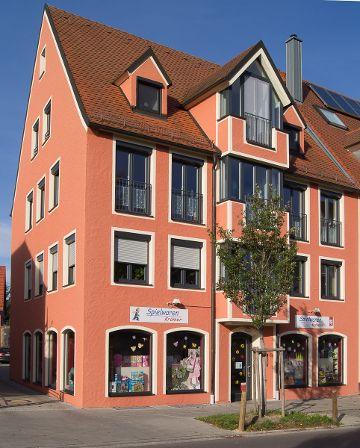 Schrobenhausen, 4 Einheiten Wohnen und Gewerbe